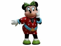 Comic Female Mouse In Polka Dot Dress Over Sized Statue
