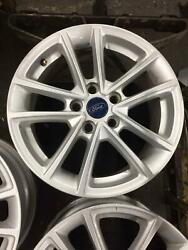 2015-2018 Ford Focus Oem Wheel 16 10 Spoke Alloy Painted Silver 16x7