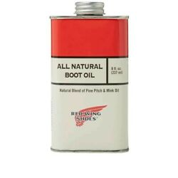 Red Wing All Natural Boot Oil 264943477127 Natural Blend Pine Pitch And Mink Oil