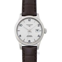 Longines Record L23214762 Sunray Silver Dial Lady's Watch Genuine Freesandh