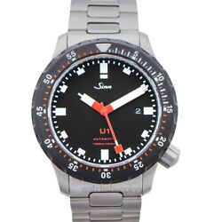 Sinn Diving Watches 1010.040-solid-2lss Black Dial Menand039s Watch Genuine