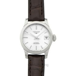 Longines Record L23204722 Sunray Silver Dial Lady's Watch Genuine Freesandh