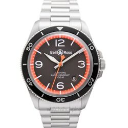 Bell And Ross Vintage Brv292-ora-st/sst Grey Dial Menand039s Watch Genuine Freesandh