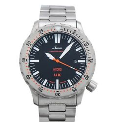Sinn Diving Watches 403.030-solid-2lss-bb Black Dial Menand039s Watch Genuine