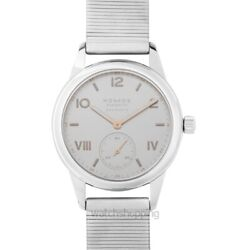 Nomos Glashuette Club 748 White Silver-plated Dial Menand039s Watch Genuine
