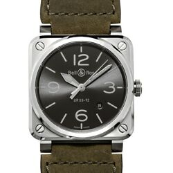 Bell And Ross Instruments Br0392-gc3-st/sca Black Dial Men's Watch Genuine