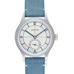 Longines Longines Heritage L28284732 Silver Dial Menand039s Watch Genuine Freesandh