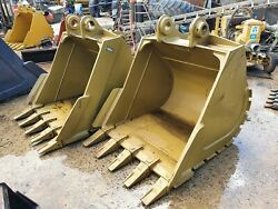 New 1200mm Excavator Digging Bucket Suit 20 Ton 80mm Pin 310mm X 460mm Andpound1500+vat