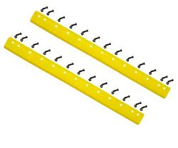 2 - 8d-2786 - Common 6ft Heat Treated Curved Grader Blade - 1/2x6x72