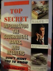 Top Secret Information The Government Banks and R