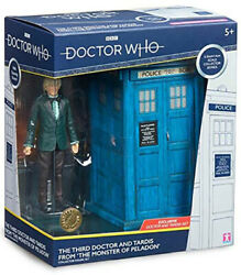 Doctor Who Figure 3rd Doctor And Tardis From The Monster Of Peladon
