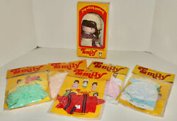 Joan Walsh Anglund Rag Doll And Outfits Lot 1978 Determined Productions Emily