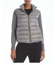Nwt Moncler Cardigan Down Puffer Coat Gray Size Xs Extra Small Sold Out