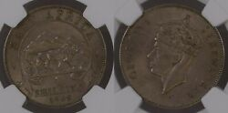 East Africa 1948 Shilling 1/- Km 31 Ngc Ms61 Unc