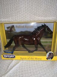 Breyer horse #1765 Breyerfest Special Edition GLOSSY Pacer quot;Foiled Againquot; 2018