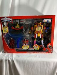 2017 Power Rangers Ninja Steel Megazord And Cannon Toys R Us Only