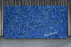 36 X 48 Inches Marble Hallway Table Top Lapis Lazuli Stone Art Dining Table Top