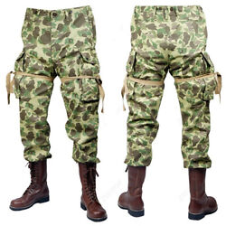 Ww2 Us Army M42 Uniform 101 Air Force Paratroopers Troops Suits Pacific Pants