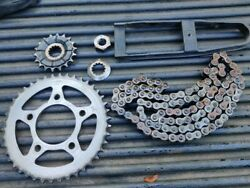 2013 Triumph Speedmaster Used Factory Sprockets And Chain