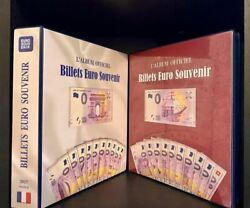 792 Zero Euro Banknotes Including The 2017 Full Set And 2 Polymer Sets Of 15