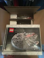 Lego Star Wars Ucs Millennium Falcon Set 75192 Incomplete With Box Minifigures