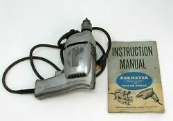 Dormeyer Electric Drill Model 210 W Metal Case Vintage Matched-craft Power Tool