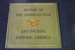 History Of The American Flag And Touring Historic America 1959 Texas Co Texaco Ad