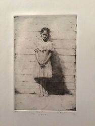 Stephen Scott Young Copperplate Etching