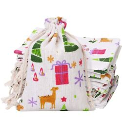 20x24pcs Dst Gift Bags Burlap Gift Pouch Candy Bag