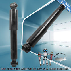 2pcs Rear Shock Struts Gas Charged For Nissan Pathfinder 2005-2012