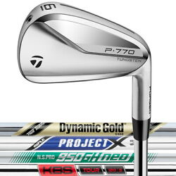 2021 Taylormade P770 Irons Right Hand - Choose Your Custom Set Shaft And Specs