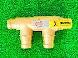 Webstone Nibco H-88655 1-1/4 X 1-1/4 Brass Ball Valve With Reversible Handle