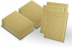 220 5 10.5x15 Kraft Natural Paper Padded Bubble Envelopes Mailers Case