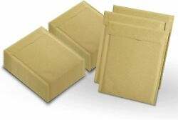 400 2 8.5x11 Kraft Natural Paper Padded Bubble Envelopes Mailers Case