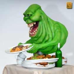 Hcg Slimer Ex Ghostbusters 14 Scale Statue Sold Out Nib Rare + Sideshow Book