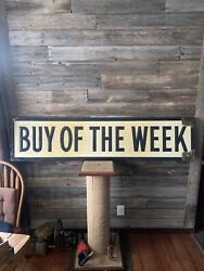 Vintage Tractor Sign Allis-chalmers Rumely Advertising Sign