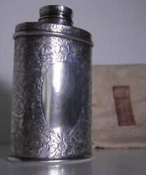 Vintage And Co Sterling Flask