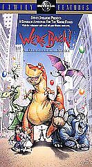 Steven Spielberg Presents We're Back A Dinosaur's Story Vhs, 1994, Clamshell
