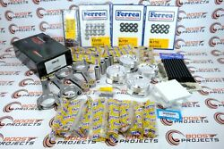 Cp Pistons 86.5 Mm Andsaenz Rods And Valve And Spring Kit W/headstuds For Type-r K20c1