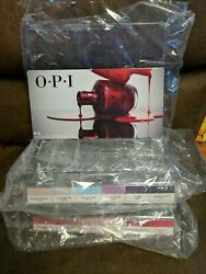 New Opi Empty Clear Nail Polish Display Rack - Hold Up To 36 Bottles Acrylic