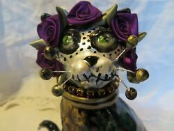Eye Catching quot;Calidaquot; Day of the Dead Original WhimsiClay by Amy Lacombe. USA