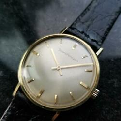 Mens Girard Perregaux 33mm Gold-capped Hand-wind Dress Watch C.1960s Ms212blk