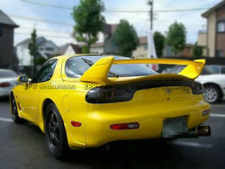 Ms Style Frp Unpainted Rear Trunk Spoiler Wing Body Kits For Mazda Rx7 Fd3s