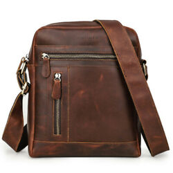Real Leather Business Shoulder Bag for Men Office Messenger Bag Satchel Handbag $79.90