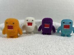 Set Of 4 Domo 2 Qee Series 2 2010 - 2012 Collectible Figure, Dark Horse Toy2r