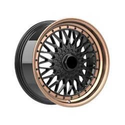 4 Wheels 18 Inch Bronze Rims Fits 5x114.3 Ford Fusion 2006-2012