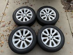 2013-2018 Land Rover Range Rover 20andrdquo Wheels Oem With Tires Ck52-1007-da