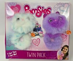 Pomsies Snowball And Boots Plush Toy 2 Pack Free Shipping
