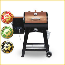 Wood Pellet Grill Flame Broiler Meat Probe Bbq Smoking Grilling Lexington Smoker