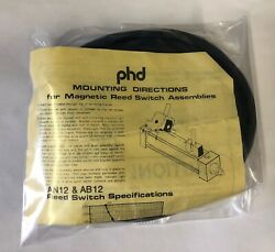 Phd Pneumatics An12 Reed Switch Cylinder Sensor With Integrated 15 Ft Cable